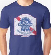 The MadTadders PBR Hipster Print Unisex T-Shirt