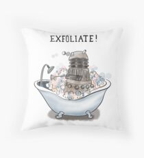 Exfoliate Throw Pillow
