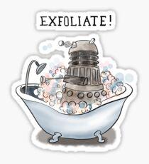 Exfoliate Sticker