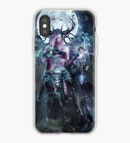 The Dreamcatcher (vertical print) iPhone Case