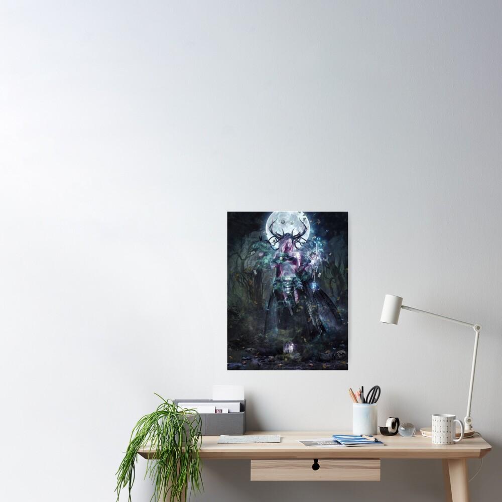 The Dreamcatcher (vertical print) Poster