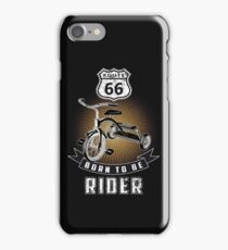 born to be rider iPhone Case/Skin