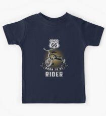 born to be rider Kids Tee