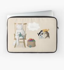Of Cats and Yarn Laptop Sleeve