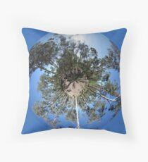forest planet Floor Pillow