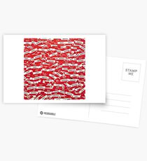 Hello My Name Is - Name Tag Design  Postcards