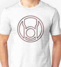 Embossed Red Lantern Symbol T-Shirt