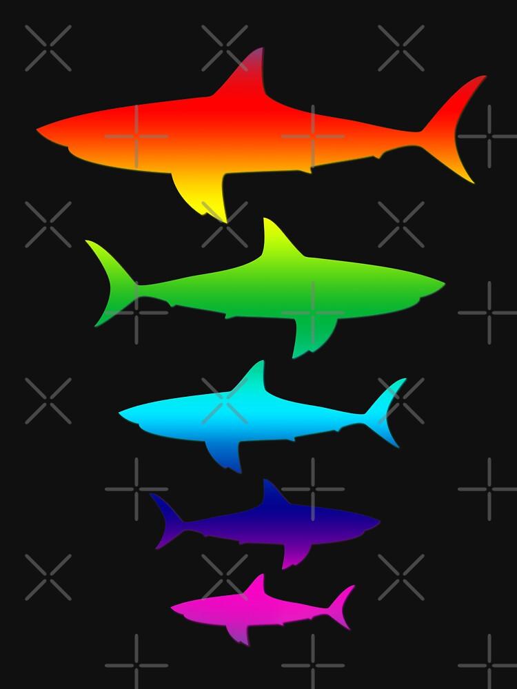 Helle Regenbogenhaie für Haifischliebhaber von jodirm