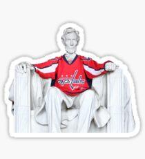 """Abe das Baby sagt """"Go Caps"""" Sticker"""