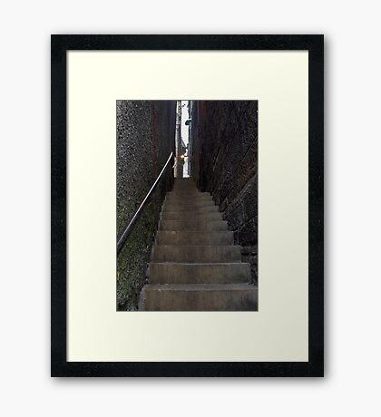 Craigs Close - Edinburgh Framed Print