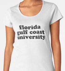 florida gulf coast university Women's Premium T-Shirt