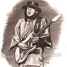 Stevie Ray Vaughan by Alleycatsgarden