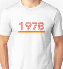 1978 Slim Fit T-Shirt
