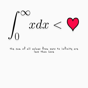The Sum of All Values from Zero to Infinity are Less Than Love by Oblivion