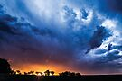 Lloma Sunset Storm by Candice O'Neill