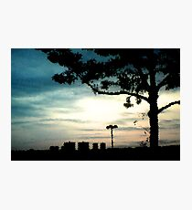 Sunset In Blue Photographic Print