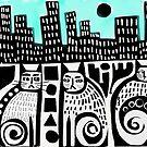 City Cats by Karin Zeller