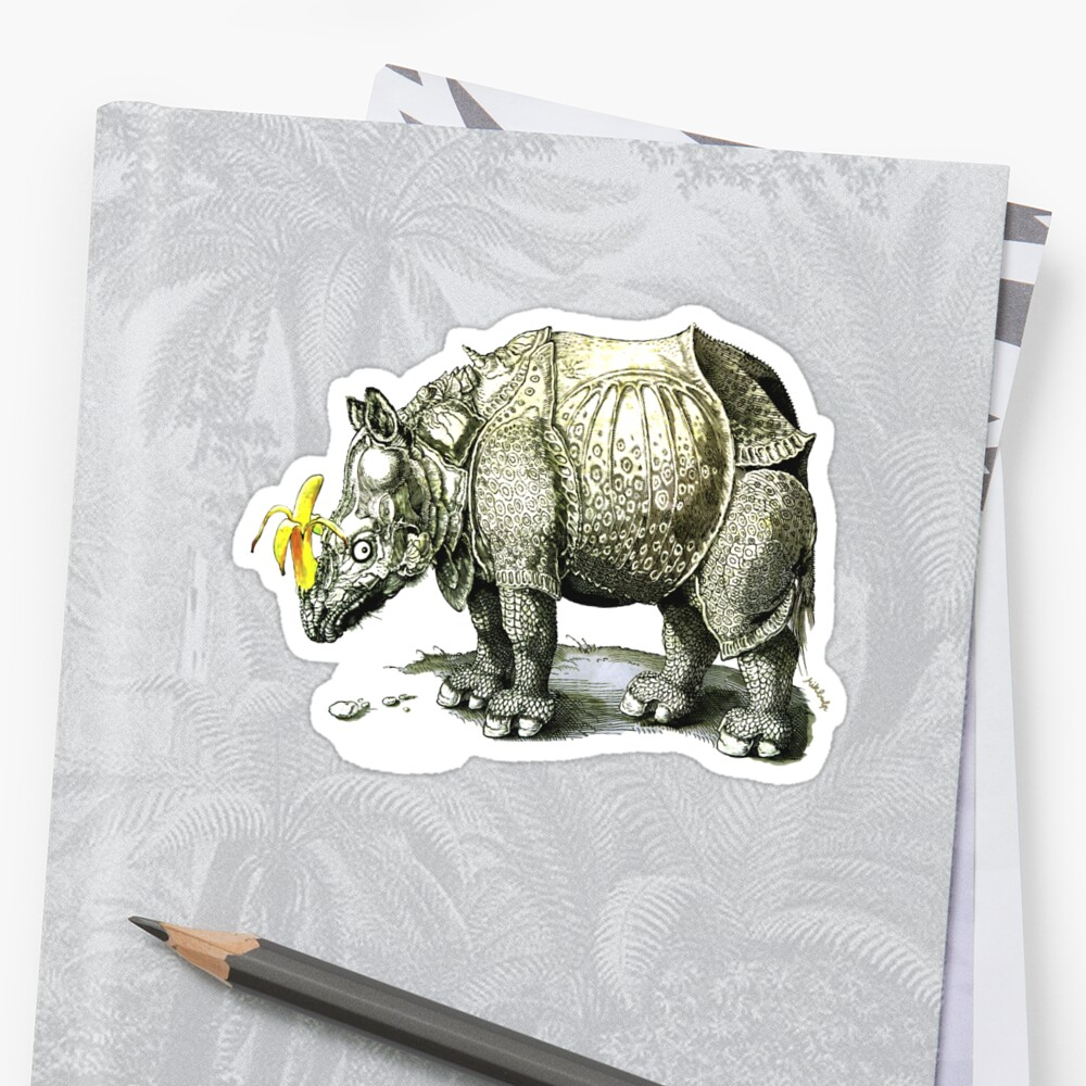 Rhino update Sticker