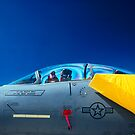 F-15 On Display by Jim Haley