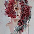 FLEUR woman in watercolour by Robyn Bradshaw
