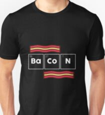 Funny Bacon Science Gift Periodic Table Unisex T-Shirt