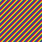 IPA scarf - rainbow by Lingthusiasm