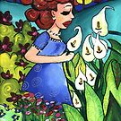 Among the Lilies by Cherie Roe Dirksen