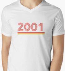 2001 Men's V-Neck T-Shirt