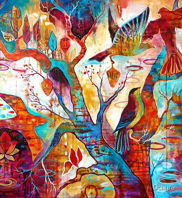 Spring awakening | Art by Marianna Ochyra