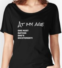 Fun Downton Abbey Quote Shirt - Fun Downton Abbey Quote t shirt - Fun Downton Abbey Quote tee - Downton Abbey Shirt - Funny Downton Abbey Quote Shirt Women's Relaxed Fit T-Shirt