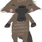 Whimsical Cheerful Platypus by flourishandflow