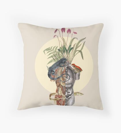 Rotten body Throw Pillow