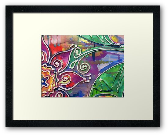 Colour me Softly (My first artwork sold on RB) by MelDavies