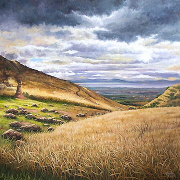 Scottish Landscape Oil Painting by Deebs1973