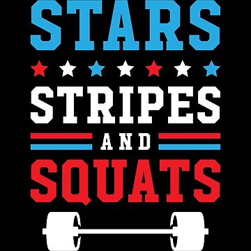 Stars, Stripes And Squats v2 by brogressproject