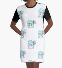 Bulma Chibi Graphic T-Shirt Dress