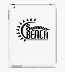 Summer Beach iPad-Hülle & Klebefolie