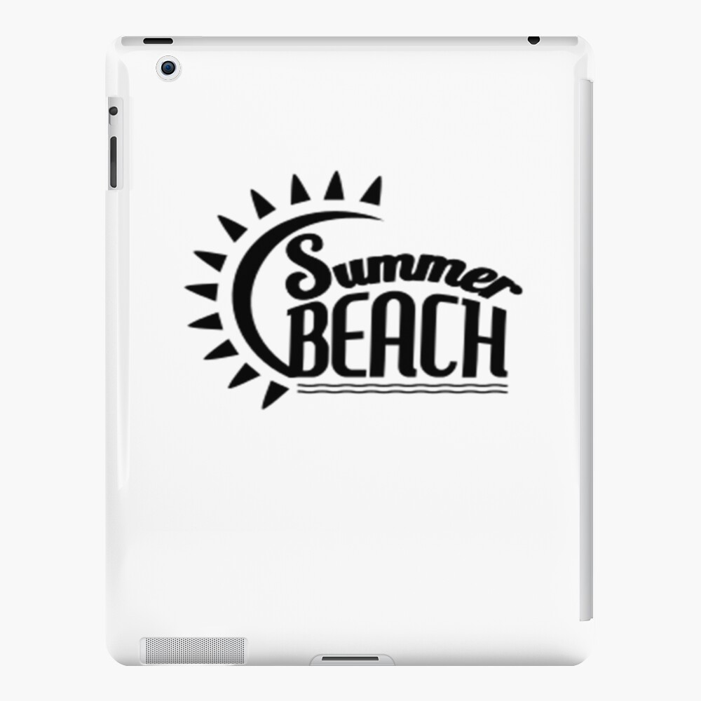 Summer Beach iPad-Hülle & Skin