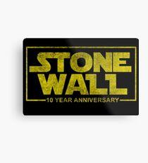 Stonewall Stwars Metal Print