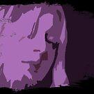 Purple lady by Anteia