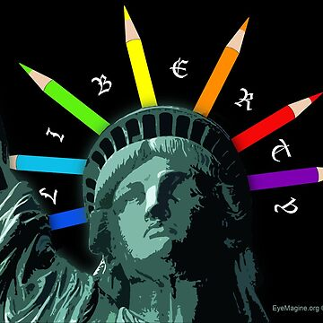 Liberty Rainbow by EyeMagined
