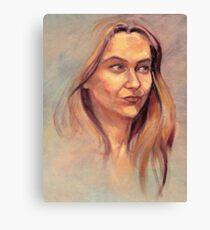 Portrait of Susie Canvas Print
