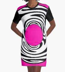 Barbie Donut Graphic T-Shirt Dress