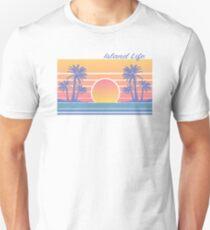 80s retro style island exotic vintage Unisex T-Shirt