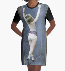 The Trapeze Artist Graphic T-Shirt Dress