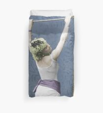 The Trapeze Artist Duvet Cover