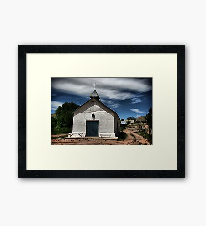 Penitente Church Framed Print