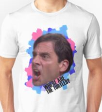 Michael Scott - Where Are The Turtles? T-Shirt