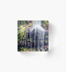 Adelina Falls, Blue Mountains Acrylic Block