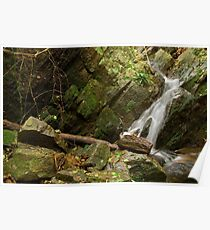 Provence waterfall Poster